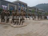 精湛的广场人物雕塑当选嘉兴致阳景观 山东供公区域美陈菜篮