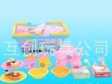 新奇玩具 趣味玩具 手提篮子配茶具蛋糕