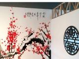上海墙绘彩绘涂鸦壁画油画手绘3d绘画餐厅