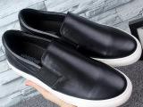 奢侈外贸大牌男鞋高端乐福鞋真皮一脚蹬懒人鞋休闲鞋板鞋牛皮单鞋