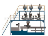 长期批发 计量称重配料系统 称重配料输送系统
