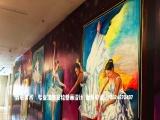 上海|酒店手绘墙|健身房壁画|墙体彩绘|涂鸦画