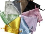 订制色丁袋拉绳束口 色丁布袋束口大 印刷色丁袋 推广