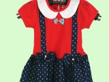 2014新款夏季韩版童装女童背带牛仔裙连衣裙公主裙厂家直批特价