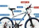 全新21级变速山地自行车388元