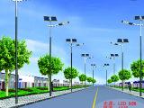 厂家直销 道路照明LED太阳能路灯 高效节能太阳能路灯