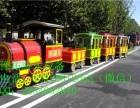 新款仿古小火车 高档典雅的无轨小火车厂家直销