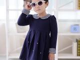 童裙 韩版品牌童装 女童连衣裙 中小童秋款服装批发 纯棉厂家直销