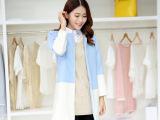 2015秋季新款 大东门女装原单外贸中长款修身显瘦羊毛呢女外套