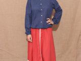 2014秋季新款日系女装外套 森女系小清新圆领女士长袖开衫外套女