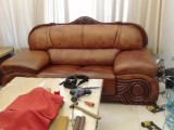 通州修沙發皮沙發換皮維修餐椅換面布藝沙發翻新包床頭