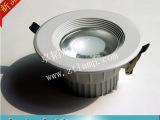 深圳4寸COB压铸筒灯外壳配件  LED压铸筒灯灯具外壳套件