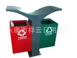 XY-J8023不锈钢果皮箱 深圳环保垃圾收集箱 分类果皮箱 【
