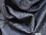 最新2015服装面料,蛇纹植绒布料 服装辅料 布料批发