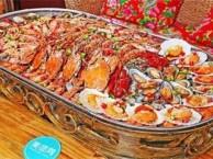 铁锹手抓海鲜加盟 正宗麻屋手抓海鲜 主题音乐鱼餐厅
