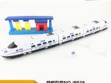 车仔王JP039回力极速列车吸板吊板 玩