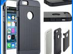 欧美最新款式iPhone6网纹盔甲手机壳苹果6TPU+PC二合一手机套