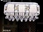 简欧创意水晶餐吊灯 现代LED吊线灯个性