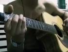 二手单板木吉他
