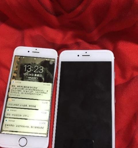 一个苹果6S,一个苹果6SP