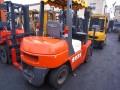 盐城二手合力3.5吨叉车,五十铃发动机叉车