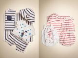 外贸 高品质 男女宝宝休闲条纹四件套