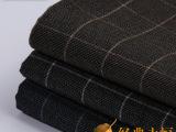 厂家直销批发 32支双股涤纶色织格子布面料 衬衫面料 TR斜纹布