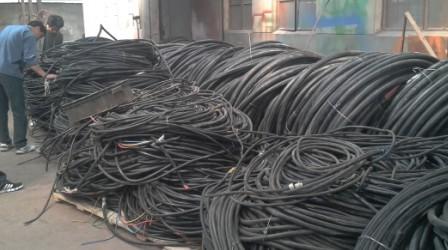 盐城盐都电缆线专业回收 电缆线金属回收公司