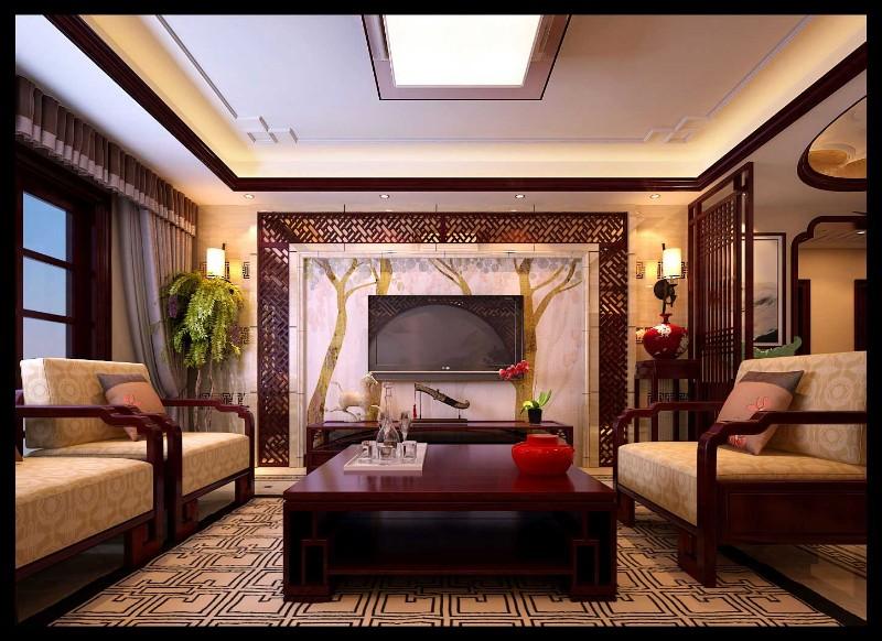 龙发装饰-乌合设计工作室 九锦台 中式风格