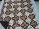 供应床上用品全棉格子印花水洗绗缝被