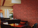 砖纹系列122cm宽加厚pvc自粘墙纸田园壁纸儿童卧室客厅背景防