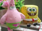 纳米/泡沫粒子玩具填充玩具海绵宝宝派大星布娃娃批发