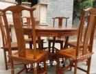 实木中式圆形餐桌-原厂直销