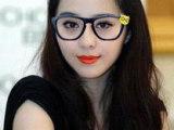 2014年较新款 超萌女士眼镜框 无片眼镜框范冰冰喜欢的熊猫眼镜