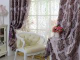 高档阳离子  双面提花  遮光窗帘布料   卧室客厅特价批发