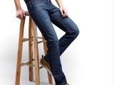 2014新款 韩版时尚修身直筒水洗牛仔裤 潮流中腰牛仔长裤一件代