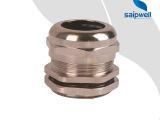 斯普威尔直销 PG16电缆金属接头 铜接头 防水接头 旋转接头