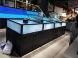 怀化饭店海鲜池定做价格合理的水产活鱼池制作