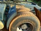 霸龙双驱半挂车拖头平板高低板二拖三二手货车转让