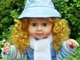 厂家供应新款24寸搪胶仿真娃娃/音乐娃娃/天舒玩具/娃娃/智能娃
