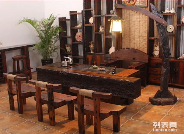 尚亿船木家具老船木茶几 船木茶桌 老船木家具价格
