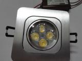 LED灯 LED天花灯 LED高档方形天花灯4W