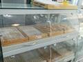 面包柜边柜面包展示柜白色