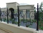 上海专业铁艺围栏一铁艺防护网一钢结构雨棚厂家直销