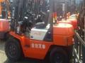 二手合力2吨堆高电瓶叉车 旧夹抱电动叉车