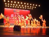 国庆节大型晚会发布会节目演出 开场舞蹈视频互动秀