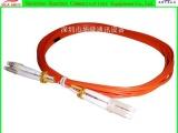 3米多模50/125光纤跳线 桔色 OM3双芯尾纤LC-LC 长