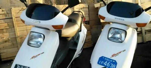本田水冷大白鲨125踏板摩托车原装进口