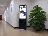 广东鑫飞43寸立式超薄楼宇广告机 广告播放机 查询阅报机