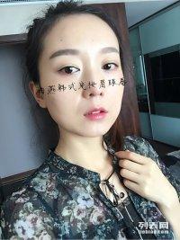 韩式定妆容貌管理韩式半永久定妆眉眼唇海燕国际韩式明星艺术定制